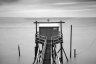 Black and White Fishing Hut-025