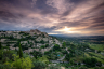 Sunrise Gordes Provence France-081