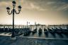 Gondolas Grande Canal Venice Italy-065